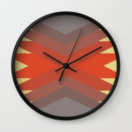 Retro Magic Pattern Wall Clock