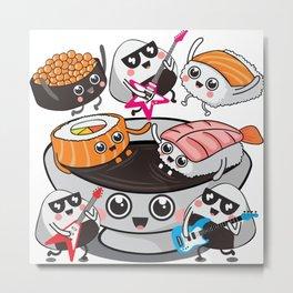 Sushi Rocks!!! Metal Print