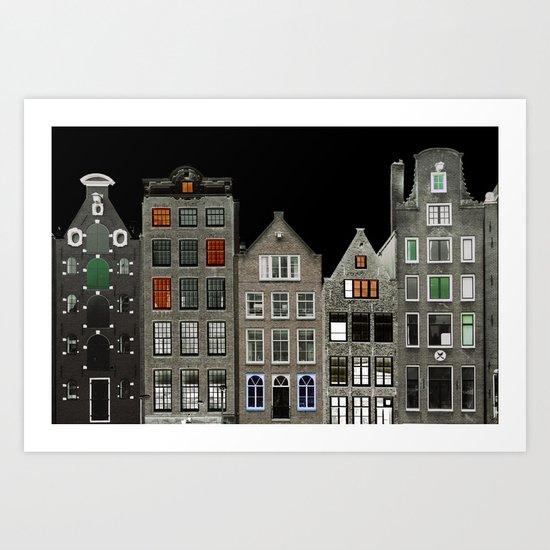 Amsterdam 18 Art Print