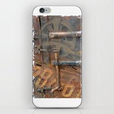 Rusty Stuff Montage iPhone & iPod Skin