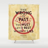 divergent Shower Curtains featuring Amity Manifesto by Tiffany 10