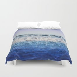 Indigo Waves Duvet Cover