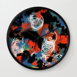 Messed Up Wall Clock