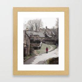 i feel winter... Framed Art Print