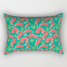 Axolotl Awesomeness Rectangular Pillow