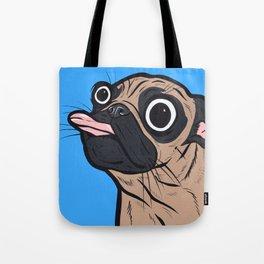 Pug Tongue Tote Bag