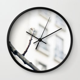 Lonely Winter (Minimalist Photography) Wall Clock