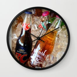 Down South, Kitchen art photography Wall Clock