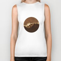 chocolate Biker Tanks featuring Chocolate by Richard George Davis