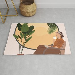 A Relaxing Afternoon Rug