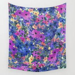 French Red Violet Wall Tapestry