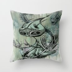 re; 6 Throw Pillow