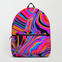 2 stripy expansions Backpack