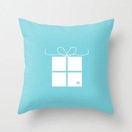 Wedding gift box Throw Pillow