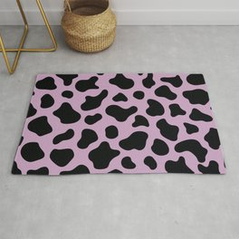 _cow print purple/lavanda iphone case Rug