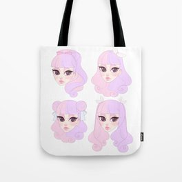 Liling Hairstyles Tote Bag