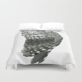 Owl Wing Duvet Cover