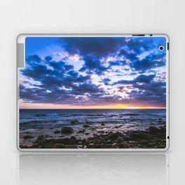 Sunset rock landscape Laptop & iPad Skin
