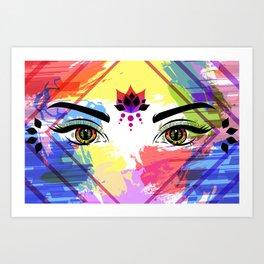 The Eyes of Ishtar Art Print