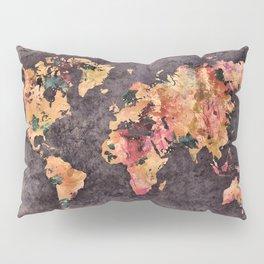 world map 68 Pillow Sham