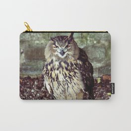 Happy Owl. Carry-All Pouch
