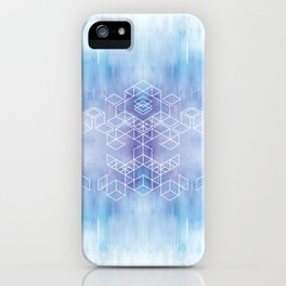 Watercolour Grid iPhone Case