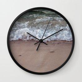 Wave on the beach II Wall Clock