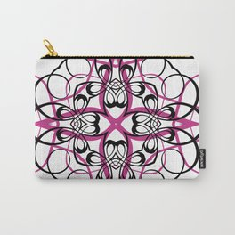 FUCHSIA SACRED GEOMETRY Carry-All Pouch