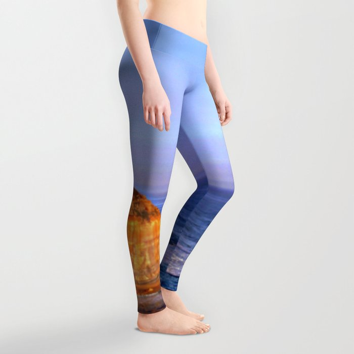 Sunset over the Great Southern Ocean Leggings