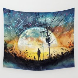 Go Home Wall Tapestry