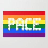 lee pace Canvas Prints featuring PACE by julianademartini