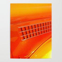 Antique Classic Car Poster