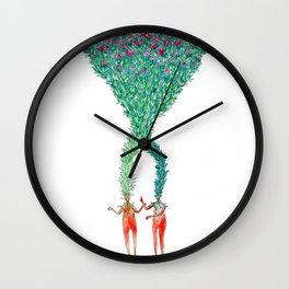 Some kind of nature inspired by Björk's music. Part 2. Wall Clock
