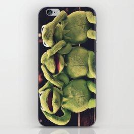 Kermit - Green Frog iPhone Skin