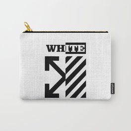 X Off White Carry-All Pouch