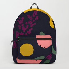 Abtract Garden by Night Backpack