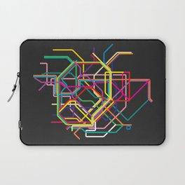 tokyo metro map Laptop Sleeve