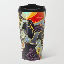 Black Lion Batik Travel Mug