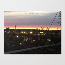 Sunset on the Highline Canvas Print
