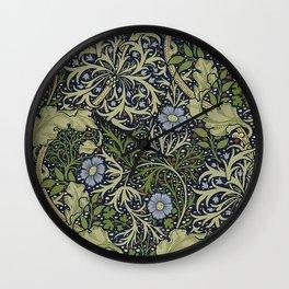 William Morris Seaweed Pattern Wall Clock