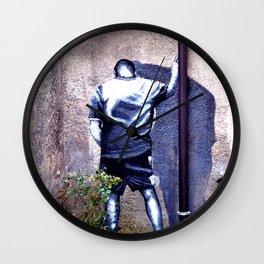In the corner Wall Clock