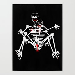 Sex Skeleton Poster
