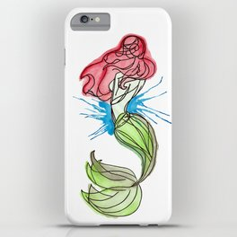 Mermaid Wishes iPhone Case