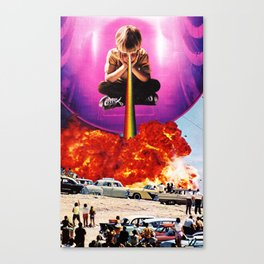 Welcome To The New World IV Canvas Print