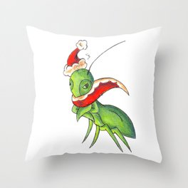 Hum Bug Throw Pillow
