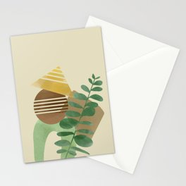 Simple model art Stationery Cards