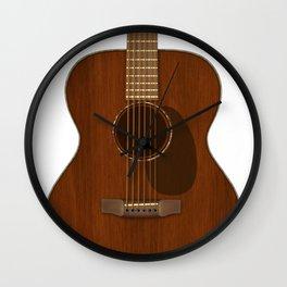 Acoustic Guitar Art Wall Clock