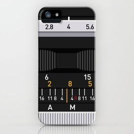 Canon 50mm iPhone Case