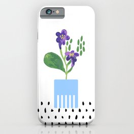 Potted Plant 3 iPhone Case