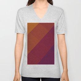 Square Abstract Gradient Art Unisex V-Neck